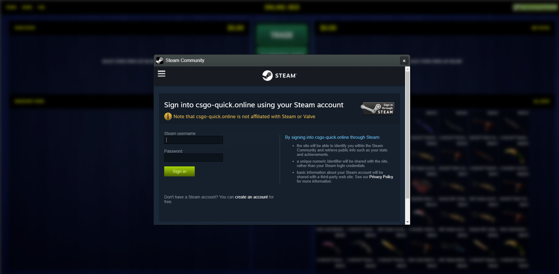 Is csgo-quick online a scam? - Spam404